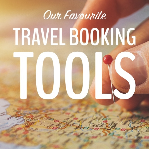 travel booking tools button