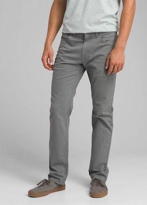 prana tucson mens travel pants grey