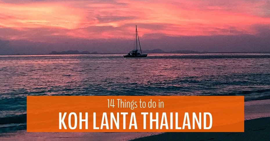 things to do in koh lanta thailand