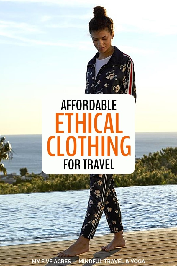 Want better clothing options? We review Threads 4 Thought, an ethical clothing brand that's doing their best to put Earth before earnings. Click to dive into the world of ethical fashion. #ethicalfashion #sustainableclothing #mindful #ecoconscious #myfiveacres