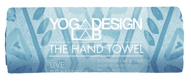 yoga design lab hand towels