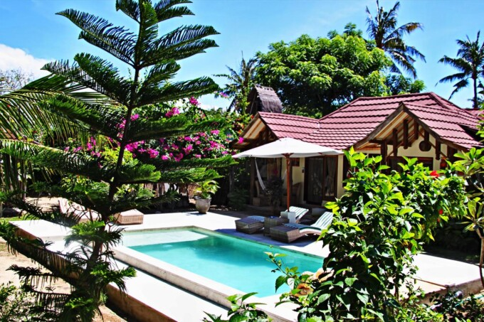 Meno Dream Resort, Gili Meno, Indonesia