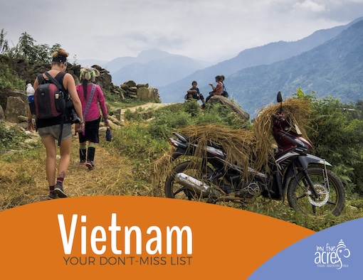 vietnam free bucket list