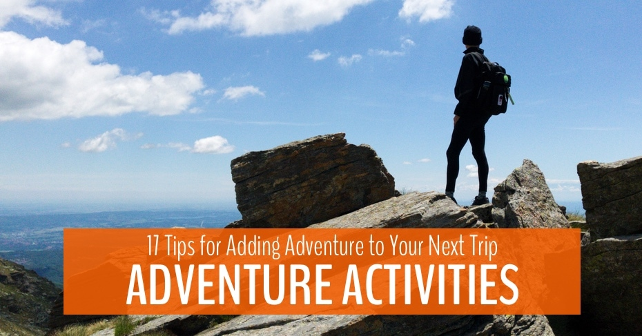 adventure activites lead image