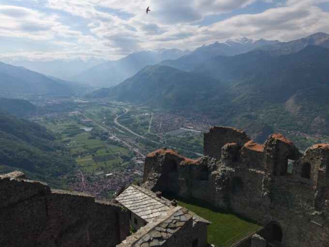 view from sacra di san michele
