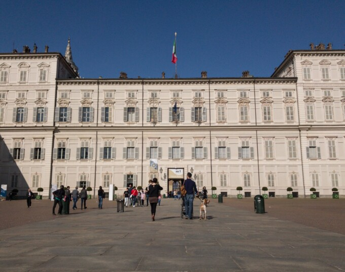 palazzo reale turin italy