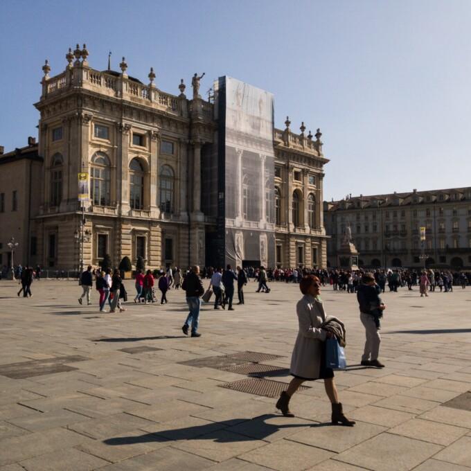 piazza castello turin italy