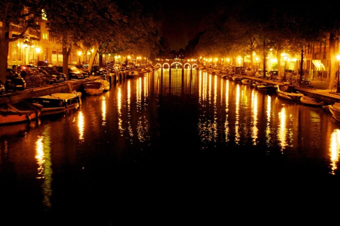 amsterdam's lights make it one of the best places to spend christmas in europe