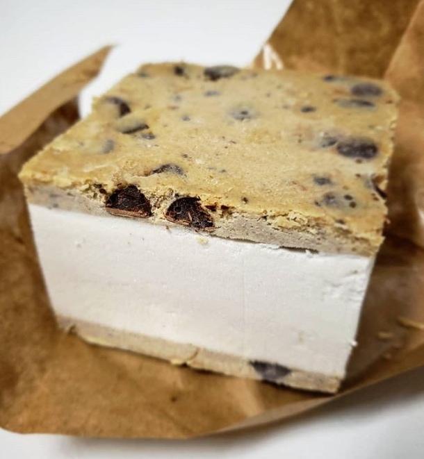vegan ice cream sandwich