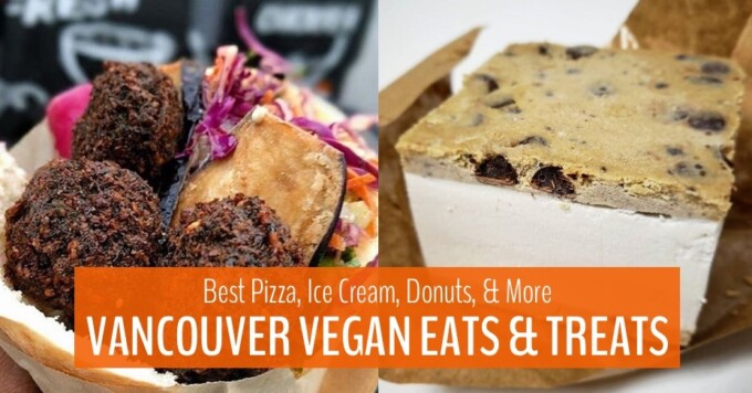 blog image for vancouver vegan eats and treats