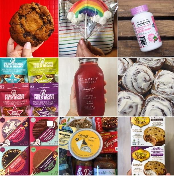 range of vegan foods at vegan supply