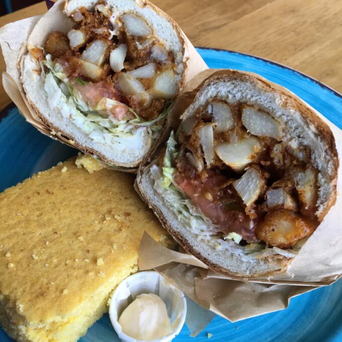 new orleans po boy sandwich