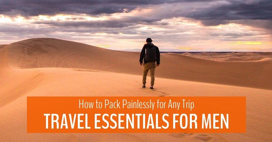 travel essentials for men main blog image