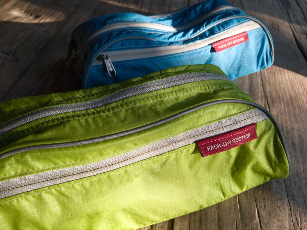 Our Eagle Creek toiletry kits help make packing a breeze.
