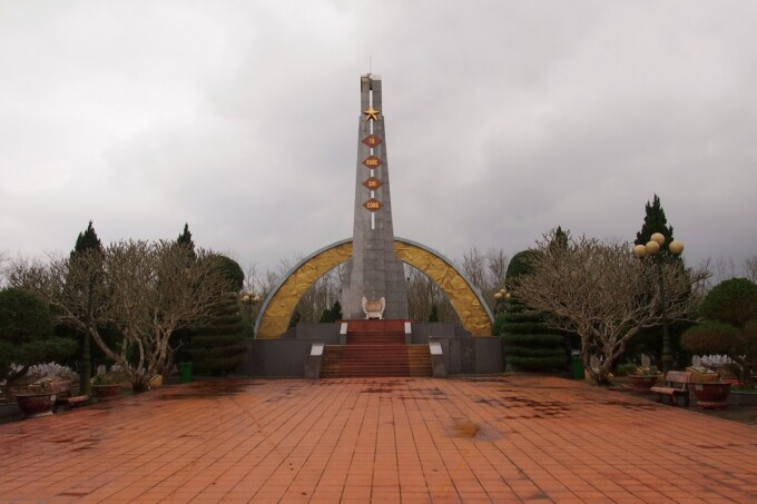 monument to soldiers of the vietnam american war