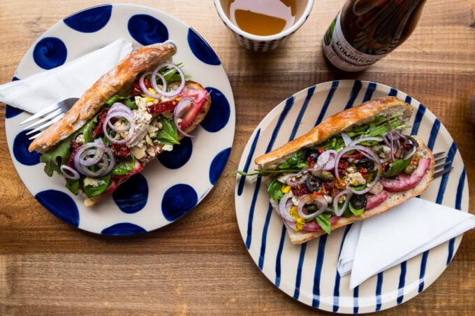 vegan sandwiches in saigon