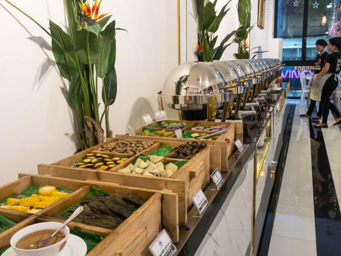 vegan buffet in saigon