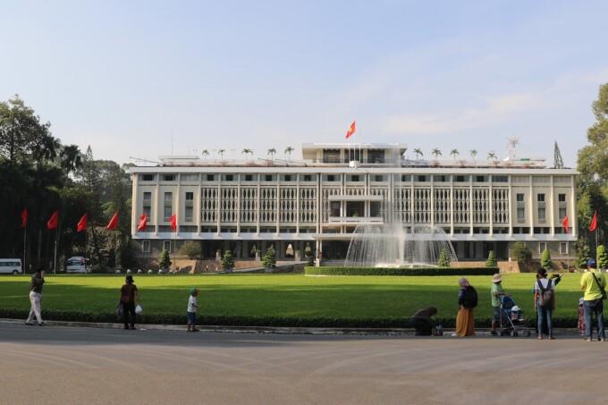 independence palace saigon ho chi minh city