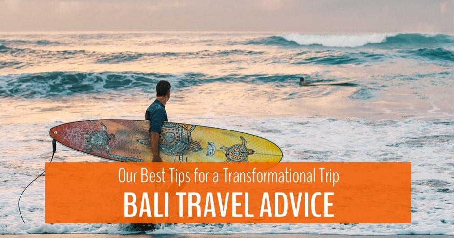 main blog image for bali travel advice