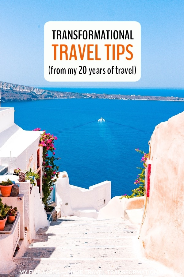 transformational travel tips pin 1