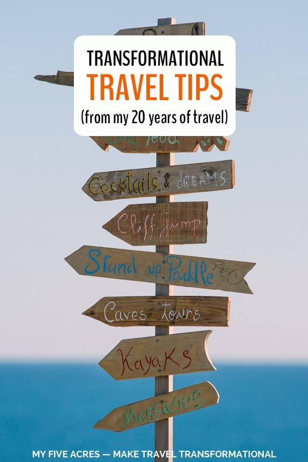 transformational travel tips pin 2