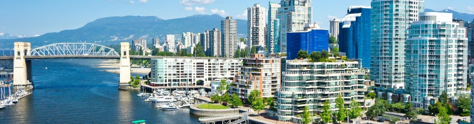 downtown vancouver west coast canada