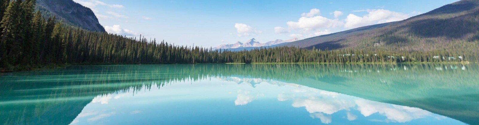 canada west coast lake