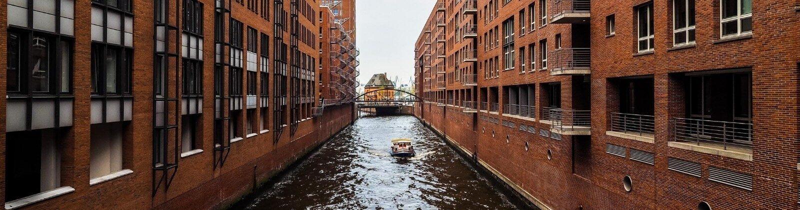 brick building hamburg europe