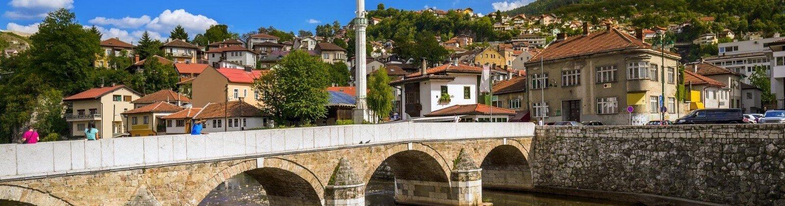 sarajevo bridge europe