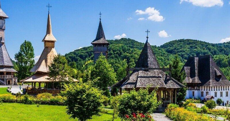 village in romania europe
