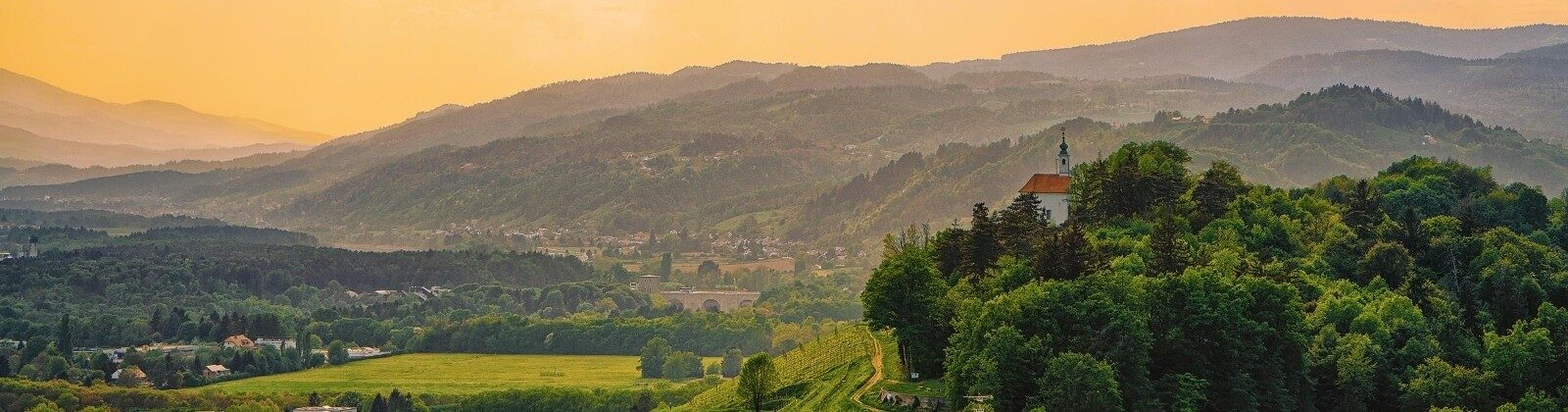 countryside in slovenia europe