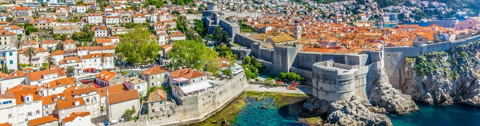 dubrovnik city wall europe