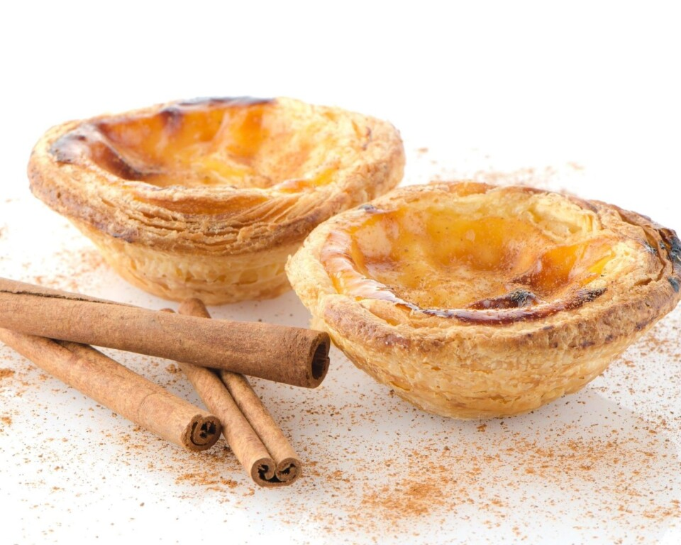 egg tarts from portugal