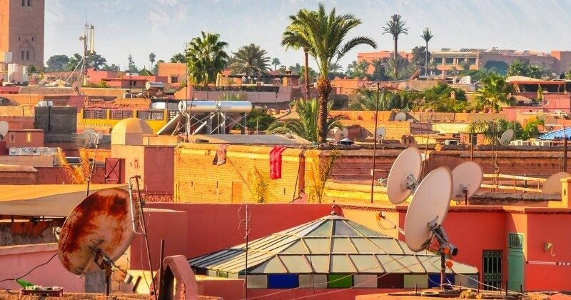 rooftops in morocco