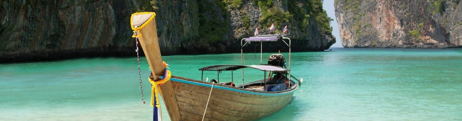 boat on the water thailand