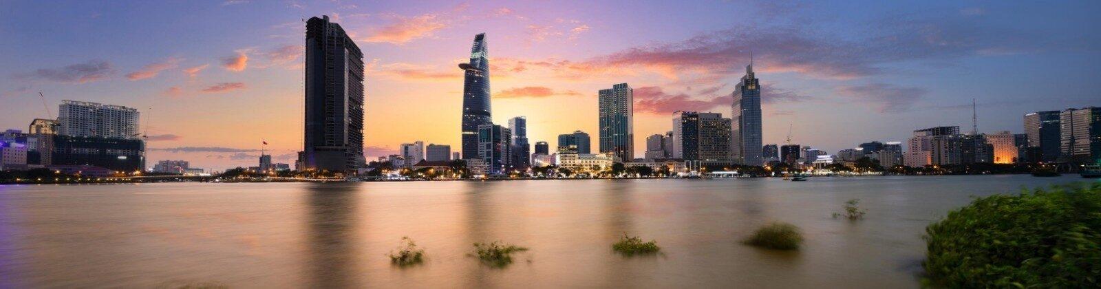 ho chi minh city mekong vietnam